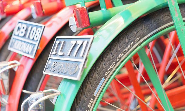 Kennzeichen für Fahrräder