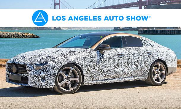 Mercedes CLS auf der LA Auto Show 2017