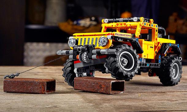 Jeep Wrangler Rubicon: Lego Technic-Bausatz