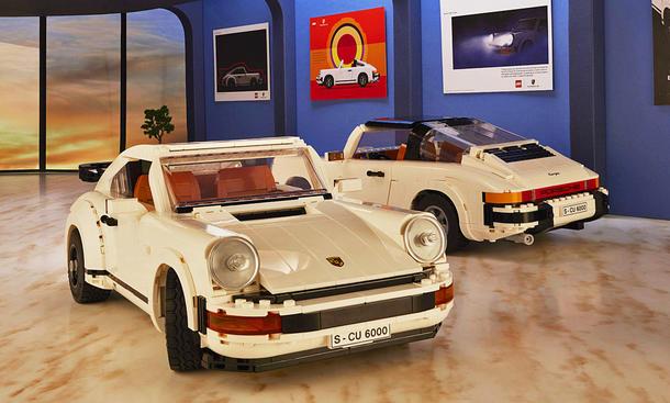 Porsche 911 Turbo & Targa: Lego-Bausatz