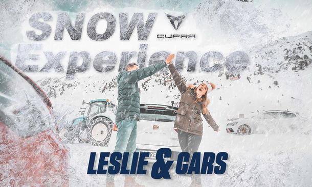Leslie & Cars: Cupra Snow Experience 2020