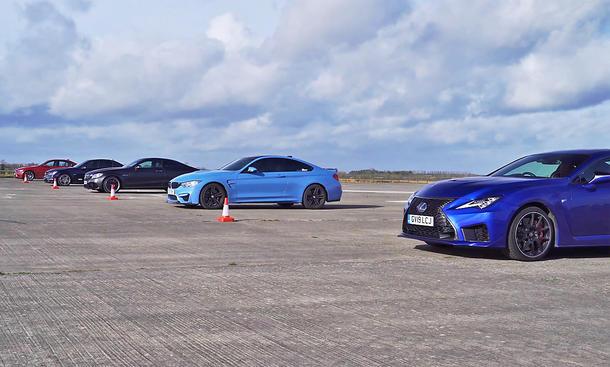 BMW M4/Mercedes-AMG C 63/Lexus LC F/BMW M4 alt/Mercedes-AMG C 63 alt