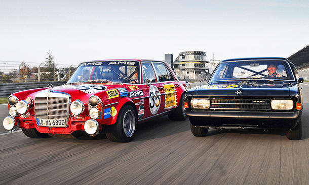 "Mercedes 300 SEL AMG ""Rote Sau""/Opel Rekord C ""Schwarze Witwe"": Classic Cars"