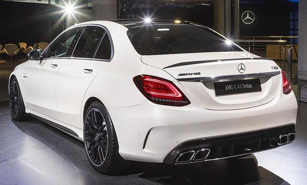 Mercedes-AMG C 63 Facelift (2018)