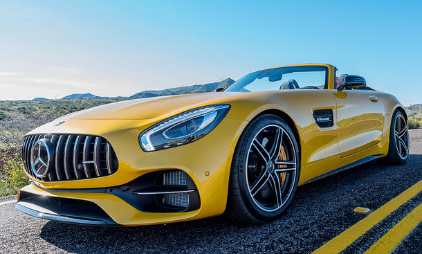 Neuer Mercedes-AMG GT Roadster (2017)