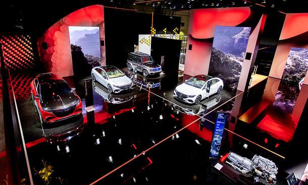 Mercedes auf der IAA 2021