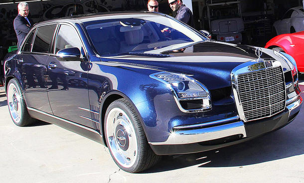 Mercedes S-Kasse Royale