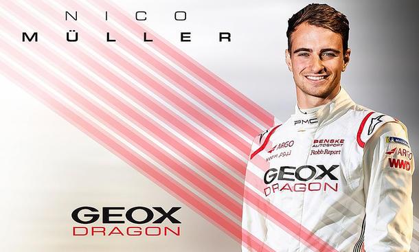 Nico Müller zu Geox Dragon