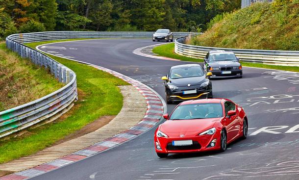 Touristenfahrt auf der Nürburgring-Nordschleife