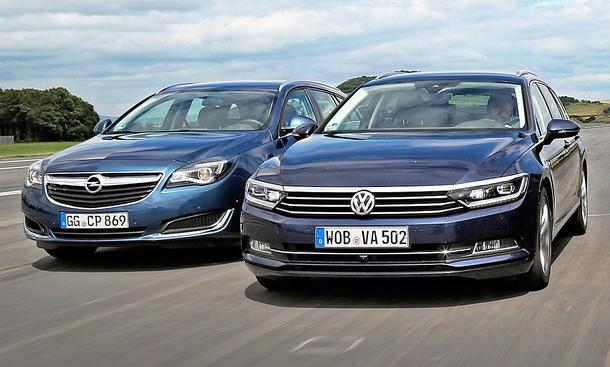 Opel Insignia/VW Passat: Gebrauchtwagen
