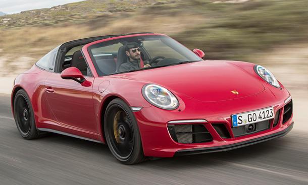 Porsche trifft ins Schwarze