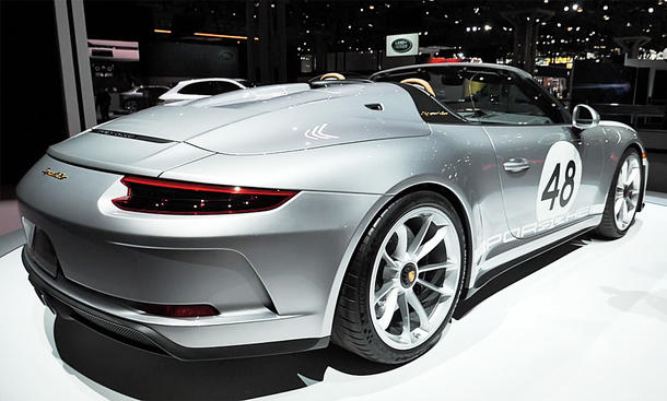 Porsche 911 Speedster (2019): Video