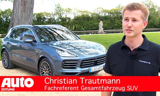 Porsche Cayenne E-Hybrid (2018)