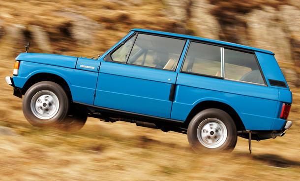 Classic Cars Ikonen: Range Rover