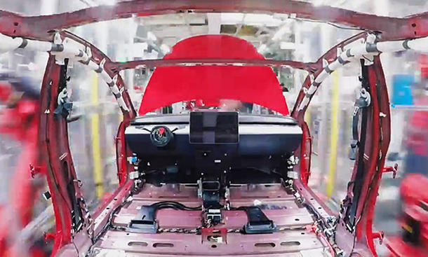 Tesla Model 3 Produktion: Video