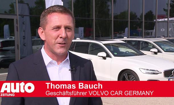 Thomas Bauch, Geschäftsführer Volvo Car Germany