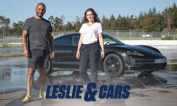 Drift-Weltrekordversuch (Taycan) : Leslie & Cars