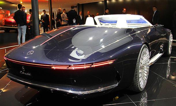 Vision Mercedes-Maybach 6 Cabrio auf der IAA