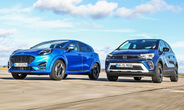 Ford Puma/Opel Crossland