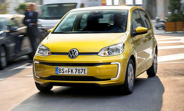 VW e-Up Facelift