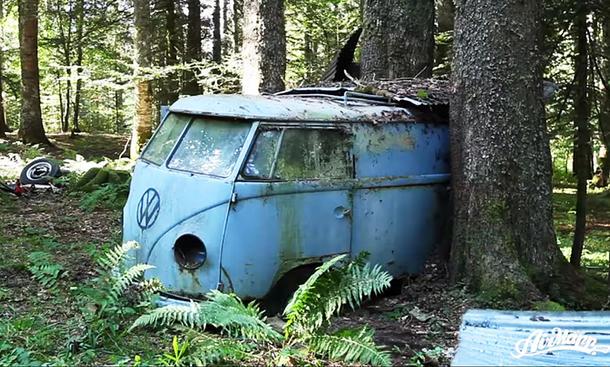 VW T1 Waldfund: Video