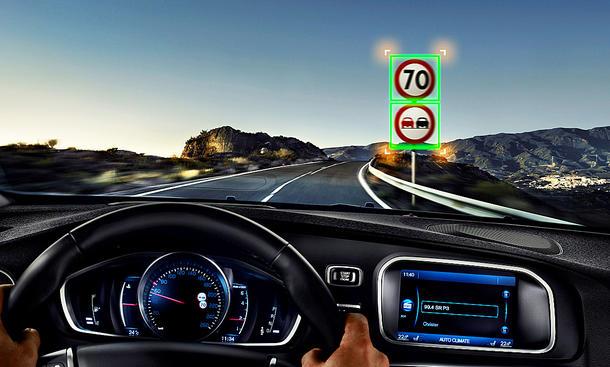 Verkehrsschild-Erkennung: Test
