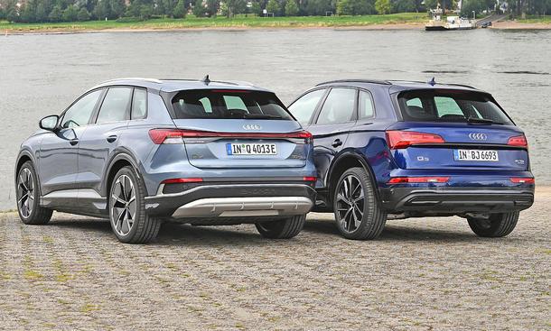 Audi Q4 e-tron 50 quattro/Audi Q5 40 TDI quattro