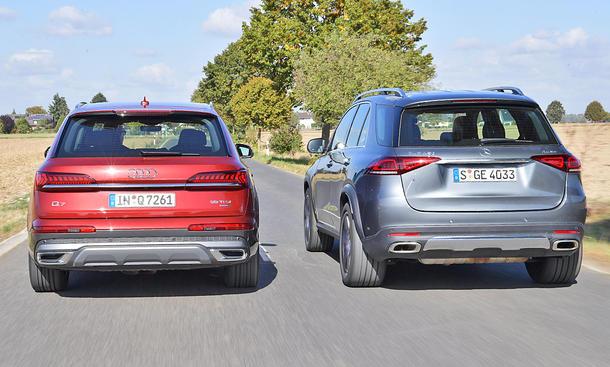 Audi Q7/Mercedes GLE