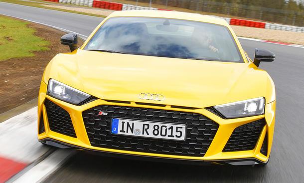 Audi R8 V10 Performance Facelift: Test