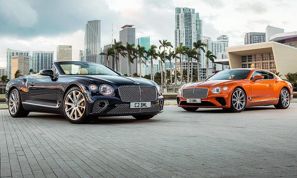 Bentley Continental GT/GTC V8 (2019)