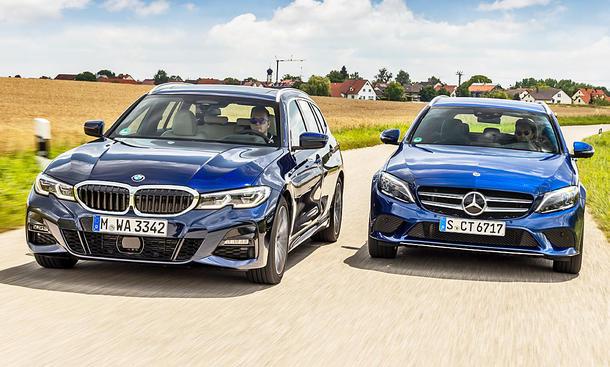 BMW 3er Touring/Mercedes C-Klasse T-Modell