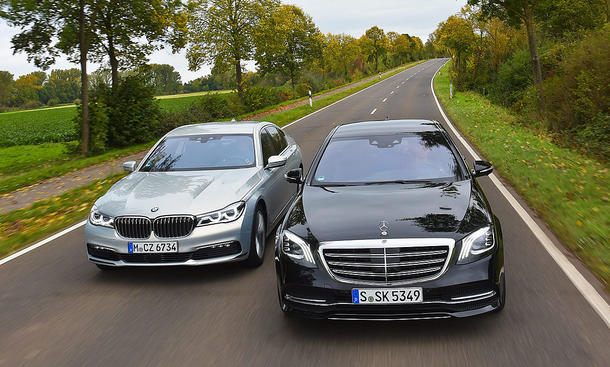 BMW 740d xDrive/Mercedes S 400 d 4Matic