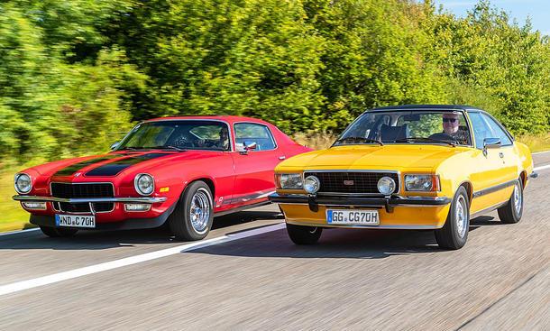 Opel Commodore/Chevrolet Camaro: Classic Cars