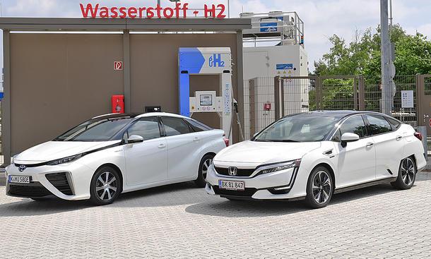 Toyota Mirai/Honda Clarity: Brennstoffzellen-Vergleich