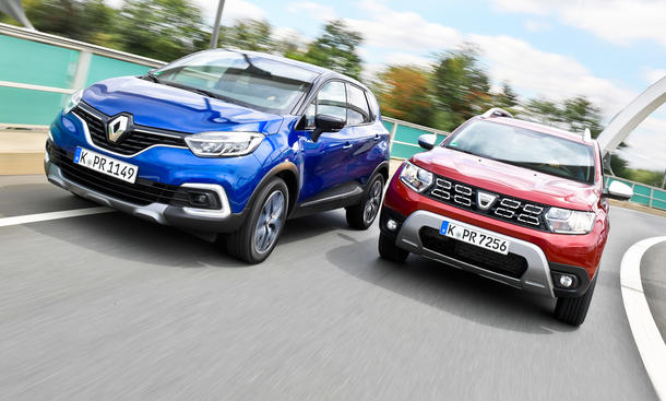 Renault Captur TCe 150/Dacia Duster TCe 150 2WD