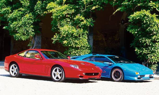 Ferrari 550 Maranello/Lamborghini Diablo SV