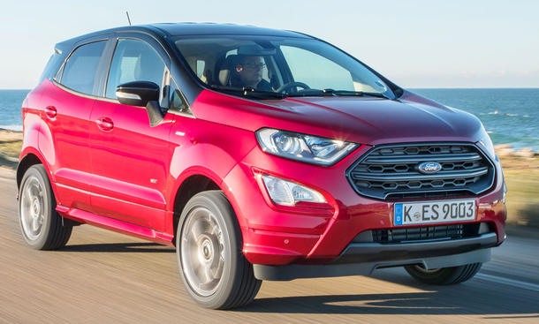 Neuer Ford Ecosport Facelift (2017)