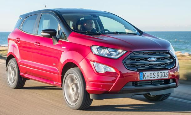 Neuer Ford Ecosport Facelift (2017)