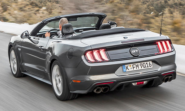 Ford Mustang GT Facelift (2018)