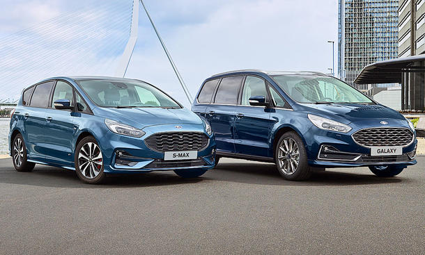 Ford S-Max & Galaxy Facelift (2019)