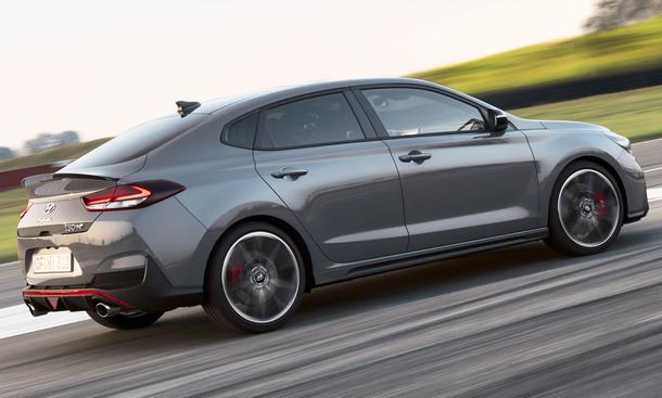 Neuer Hyundai i30 Fastback N (2018)