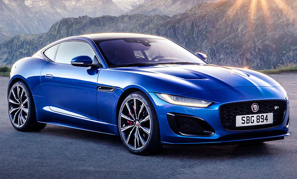 Jaguar F-Type Facelift (2020)