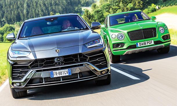 Bentley Bentayga/Lamborghini Urus