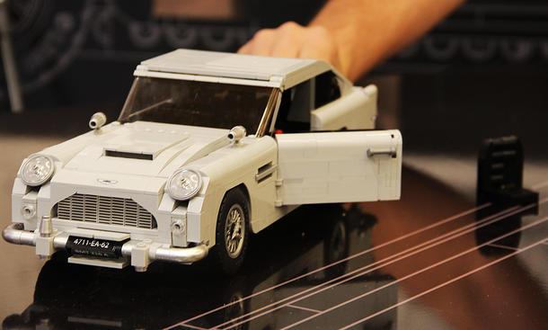Aston Martin DB5 von Lego