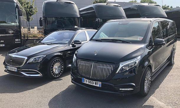 Mercedes V-Klasse mit Maybach-Tuning