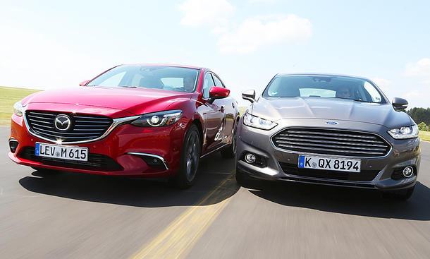 Mazda6/Ford Mondeo: Gebrauchtwagen kaufen