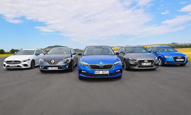 Mercedes A-Klasse/Renault Mégane/Skoda Scala/Hyundai i30/Audi A3