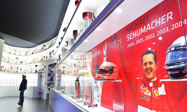 Michael Schumacher: Ferrari-Ausstellung (Maranello)