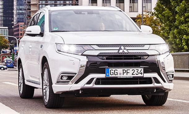 Mitsubishi Outlander PHEV Facelift