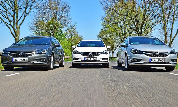 Opel Astra Sports Tourer CDTi/Ecotec/Turbo